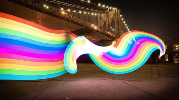 pixelstick rainbow image