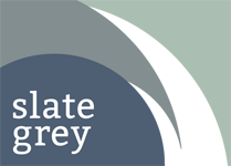 Logo design for Slate Grey Design