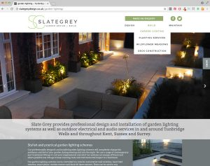 Slate Grey Website colour refresh